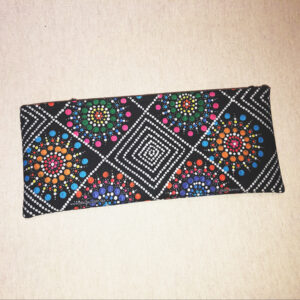 aboriginal art pencil case